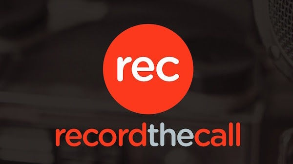 Record the Call Logo