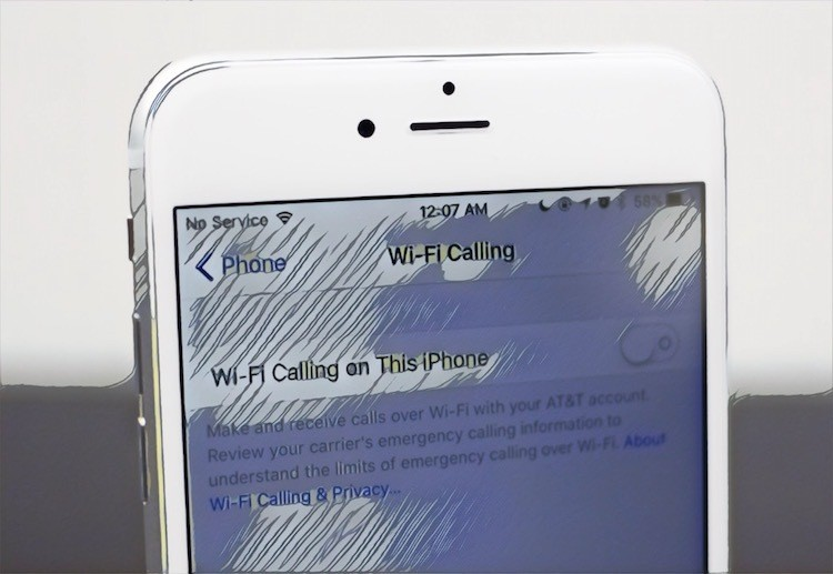 What is Wi-Fi Calling iPhone Image