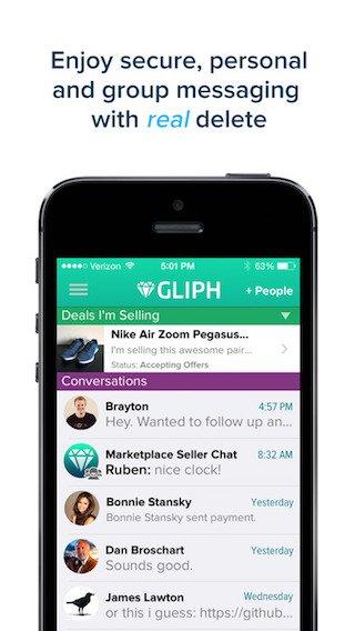 secure messaging app iphone