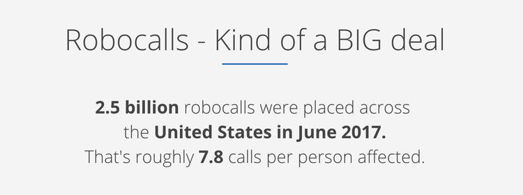 Robocall Stats from Robocallindex.com
