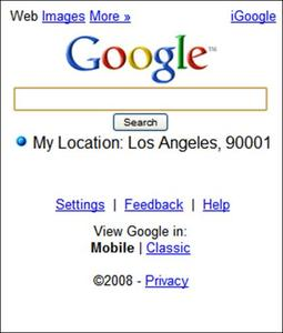 Search a cell phone location for free