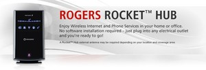 Rogers 7 2mbps Rocket Hub Now Available For 2 Yr