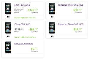 Telus lowers iPhone 3G S on-contract prices; Bell, Rogers to follow ...