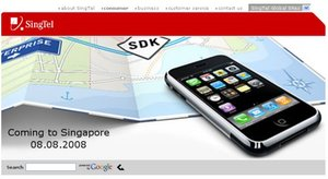 SingTel and Related Providers Get Asian iPhone Contract